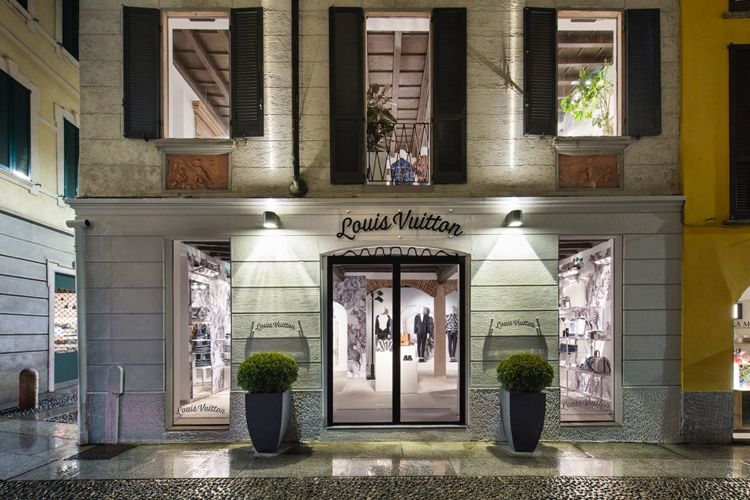 Louis Vuitton Men's Pop-Up Store Milan