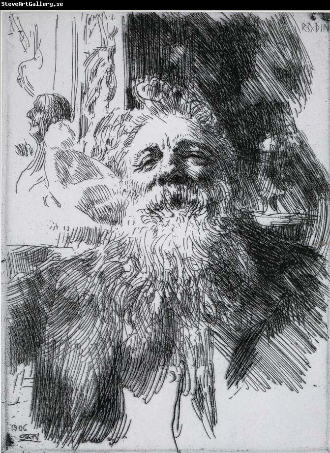 Anders Zorn Auguste Rodin