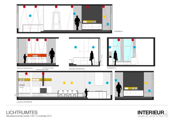 Lichtplan   Interieur design by nicole & fleur   ! Verlichting ...