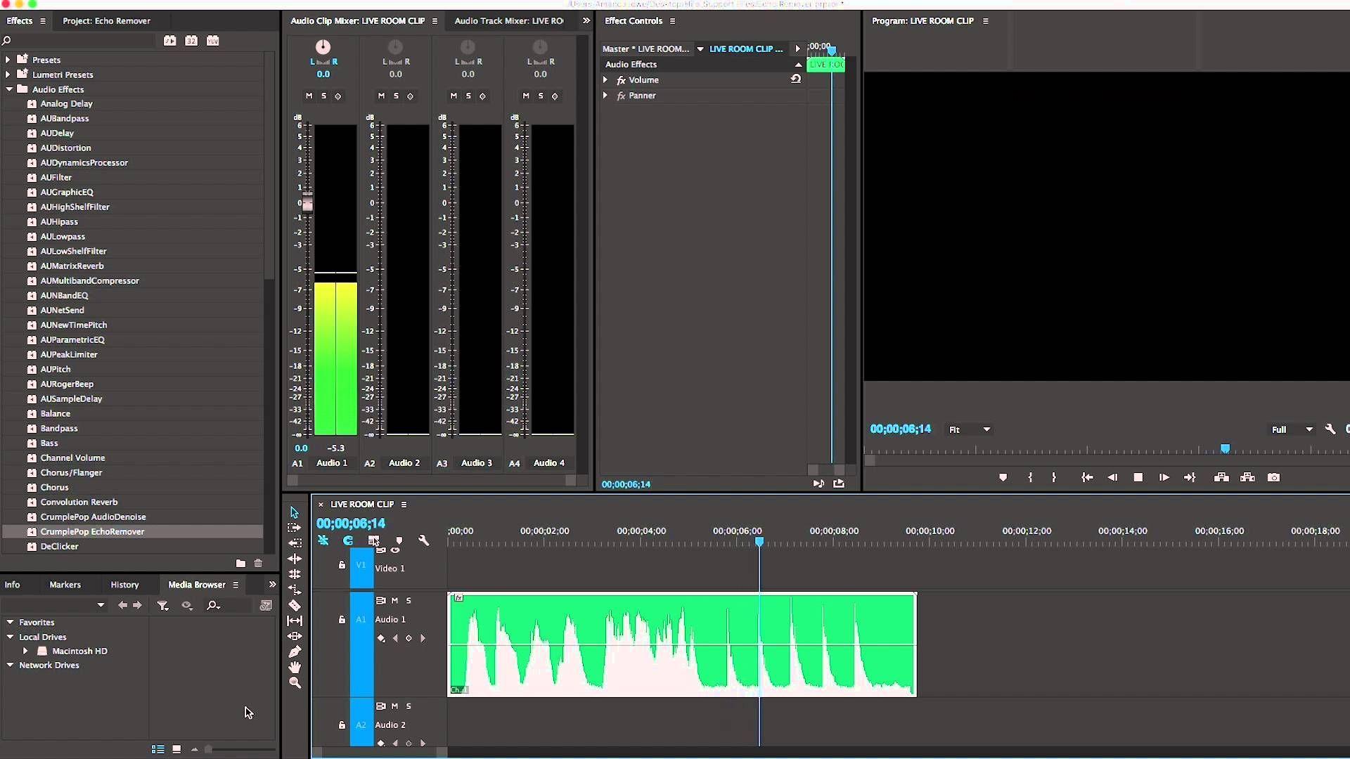 Remove Echo In Premiere Pro Tutorial Premiere Pro Tutorials Premiere Pro Adobe Premiere Pro