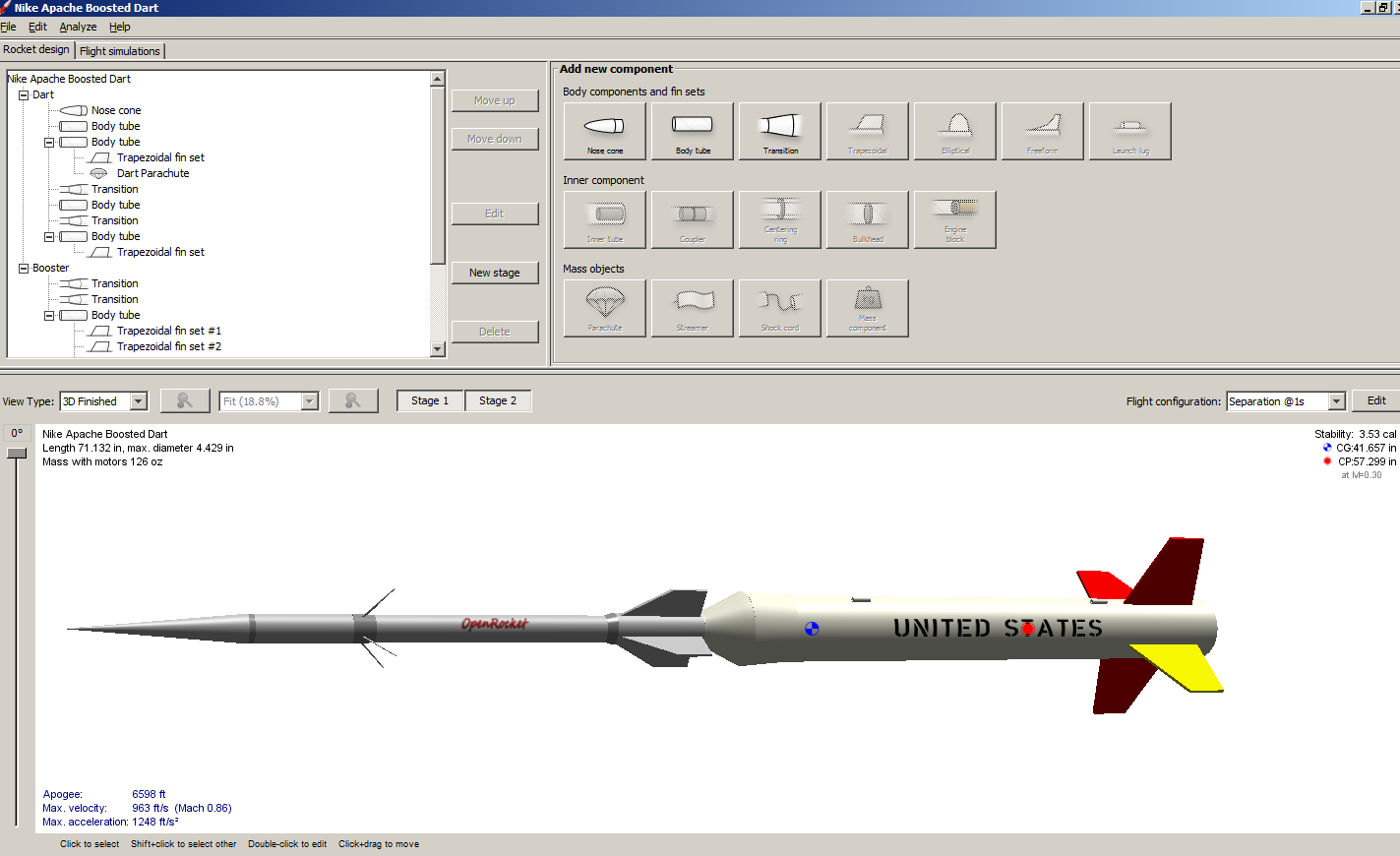 NEW VERSION! OpenRocket 14 0 3 (Click image to go to our