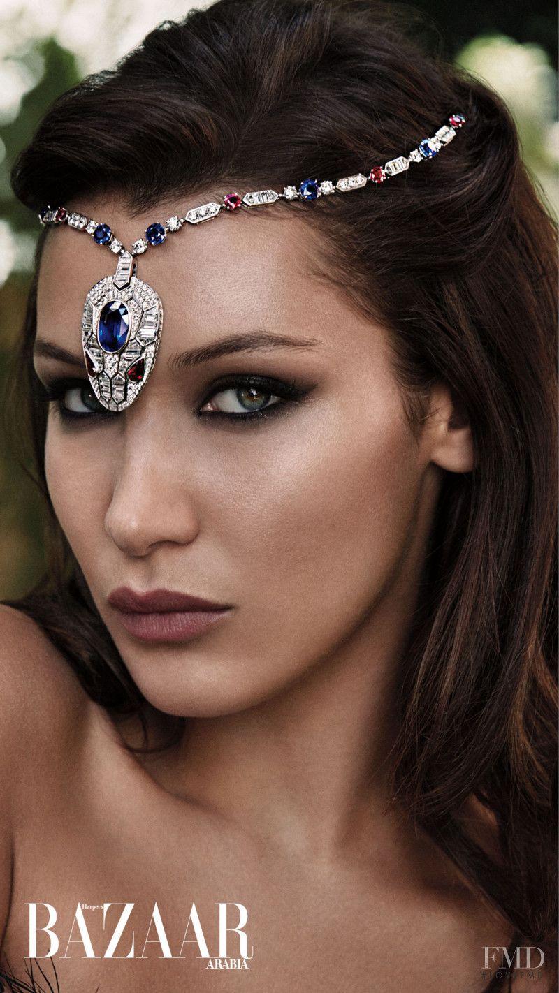 Bella In Harper S Bazaar Arabia With Bella Hadid Id 46634
