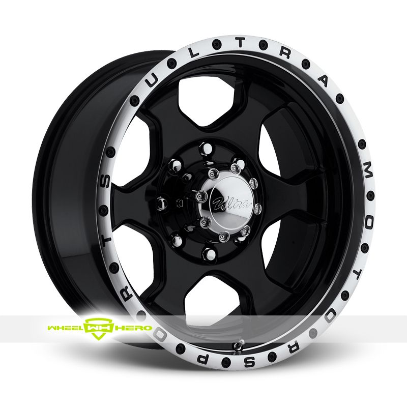 Ultra 175 Rogue 8 Black Wheels For Sale For More Info Http Www Wheelhero Com Customwheels Ultra 175 Rogue 8 Black Ultra Wheels Black Wheels Rims For Sale