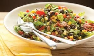 Guacamole Black Bean Salad and more healthy black bean recipes on MyNaturalFamily.com #recipes