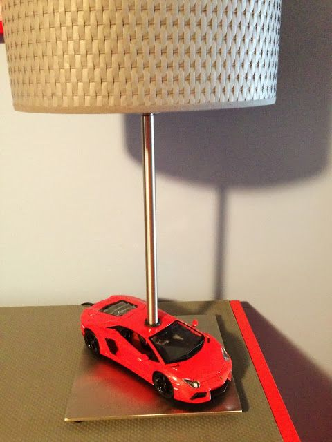Car themed dresser and car lamp | To do | Ikea hackers ...