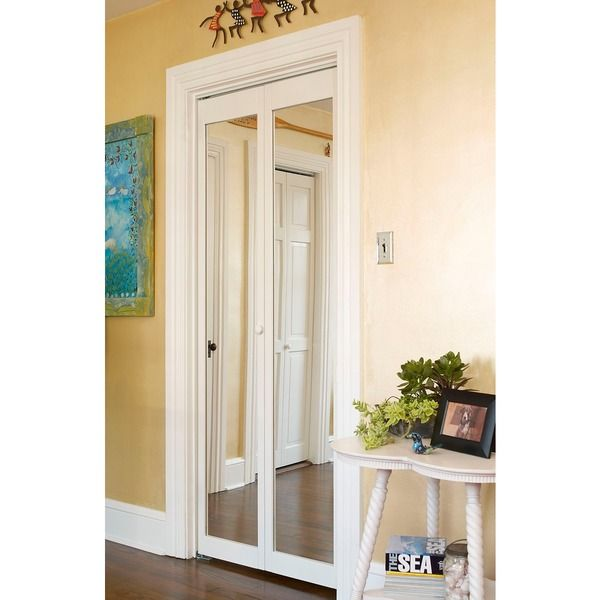 Overstock Com Online Shopping Bedding Furniture Electronics Jewelry Clothing More Wood Doors Interior Bifold Doors Mirrored Bifold Closet Doors