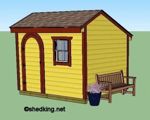 Plans For Building A 10x8 Saltbox Shed