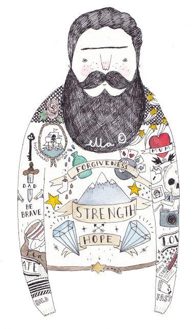 Ella   UK Lifestyle blog: Ella Masters Bearded men