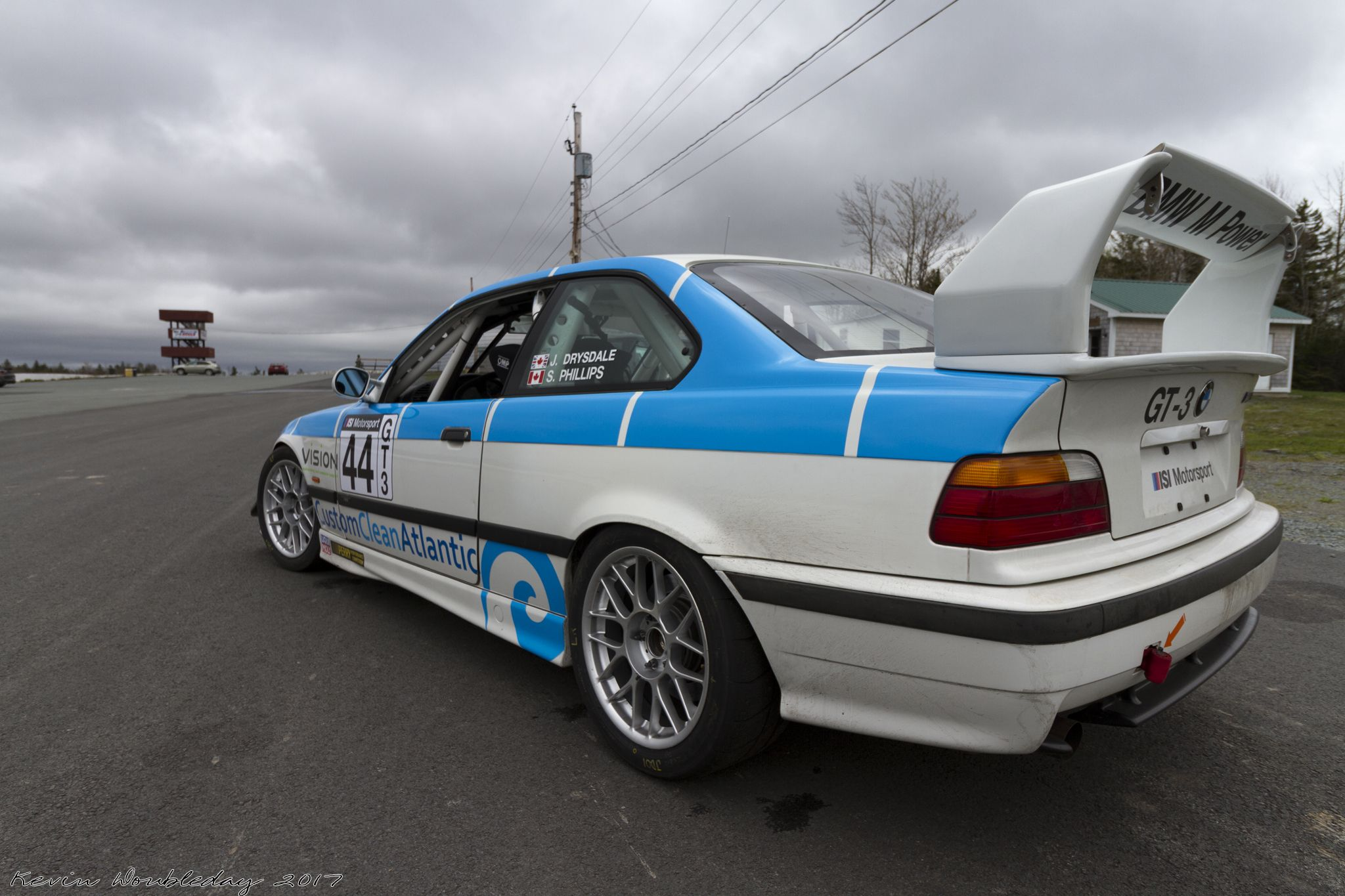 E36 Bmw M3 Race Car With A S54 Engine Swap From An E46 M3.