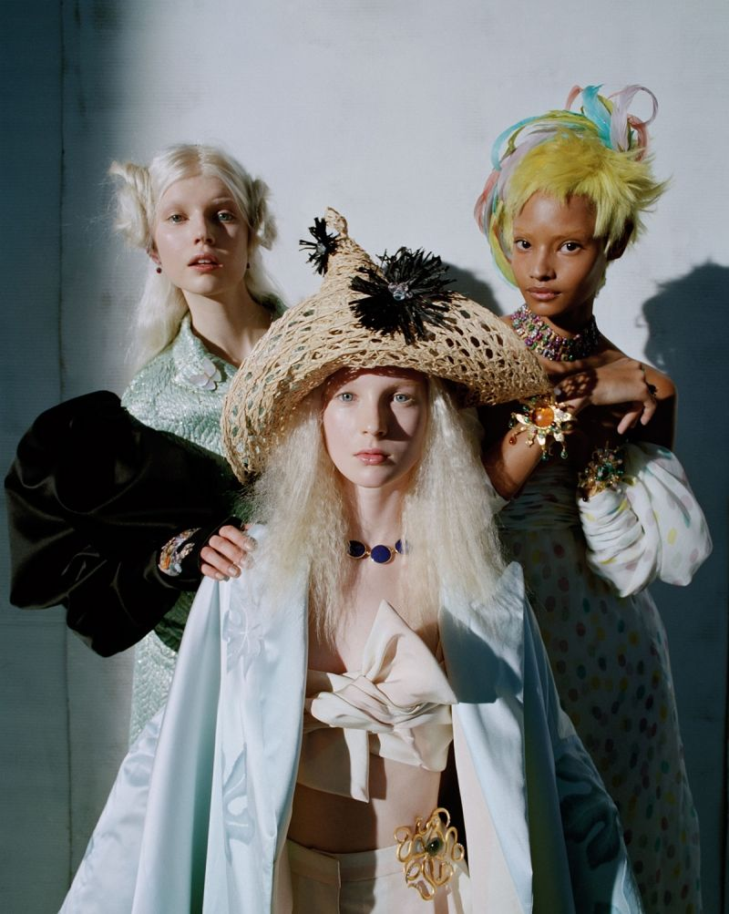 W Magazine Editorial April 2014 - Babes in Toyland by Tim Walker