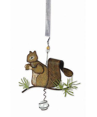 Bouncy Squirrel Decor #zulily #zulilyfinds