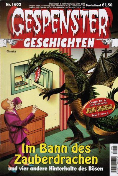 Cover for Gespenster Geschichten (Bastei Verlag, 1974 series) #1602