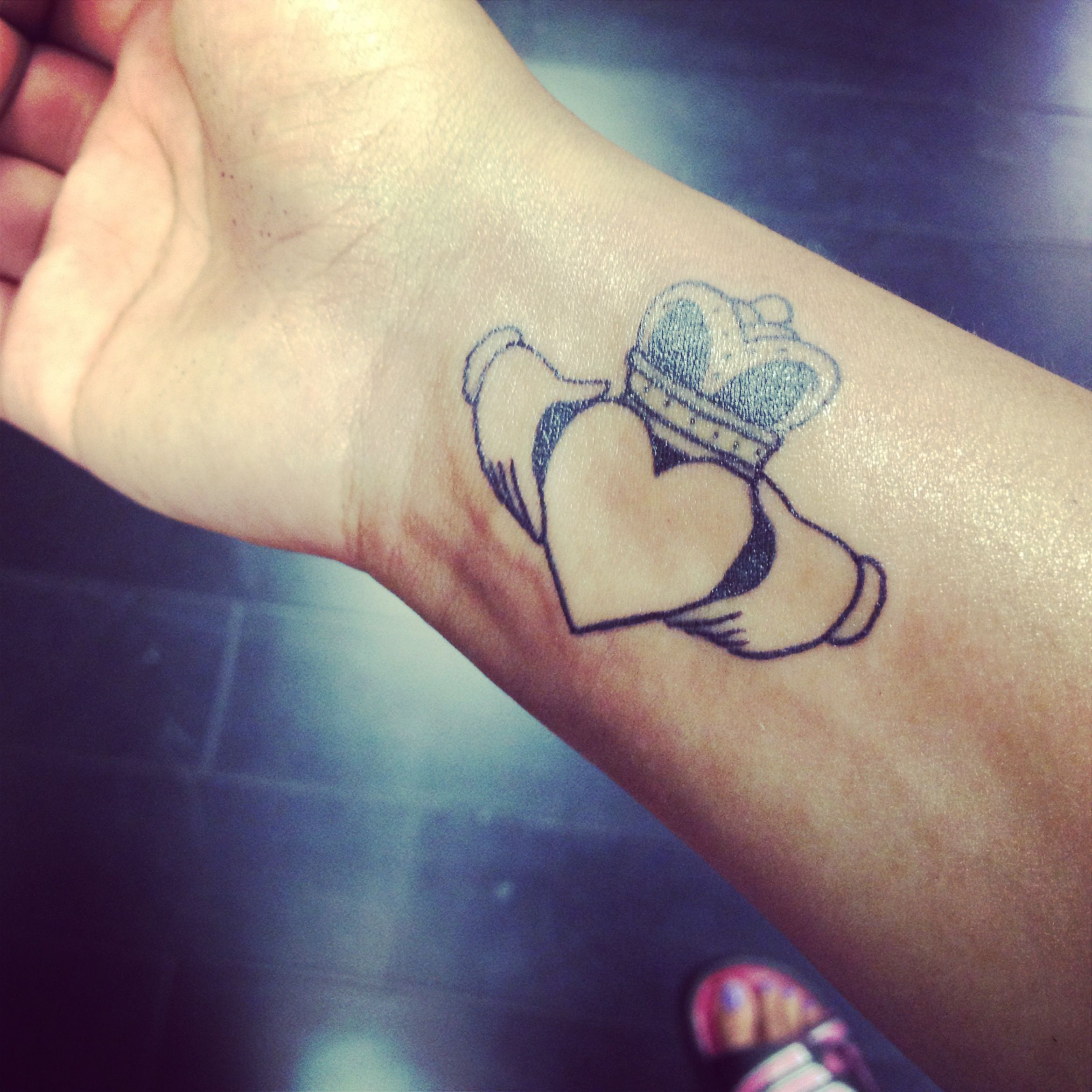 My Me Tattoo. #claddagh Love Loyalty And Friendship