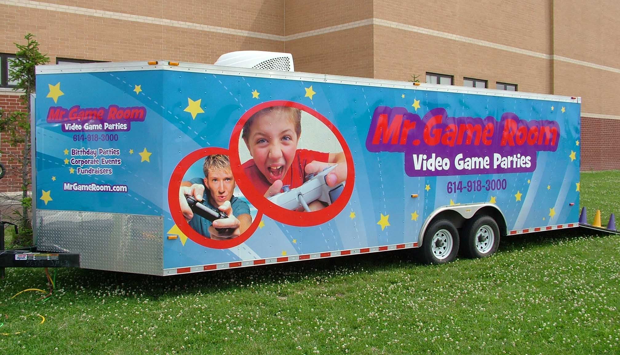 20+ Game truck party rental information