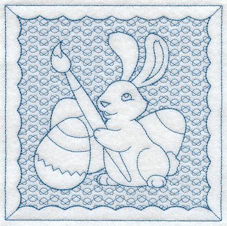 Busy Bunny (Trapunto)