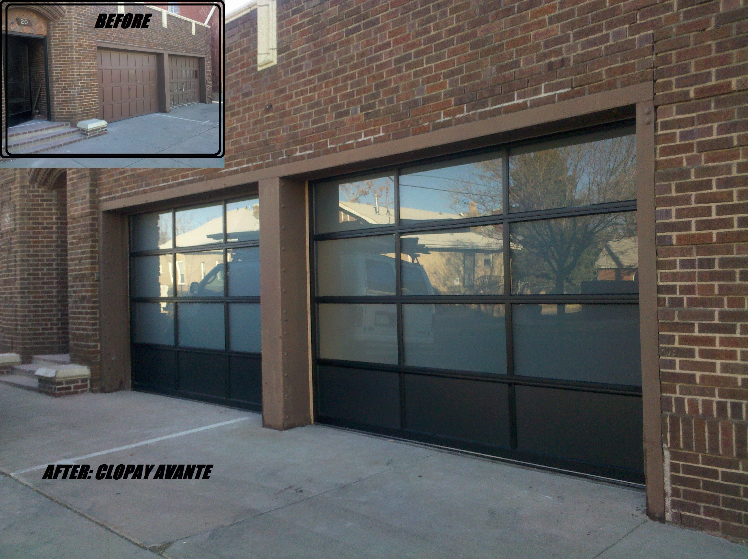 This Is A Project We Completed At A Historic Firehouse In Denver Garage Doors Garage Door Styles Cottage Exterior