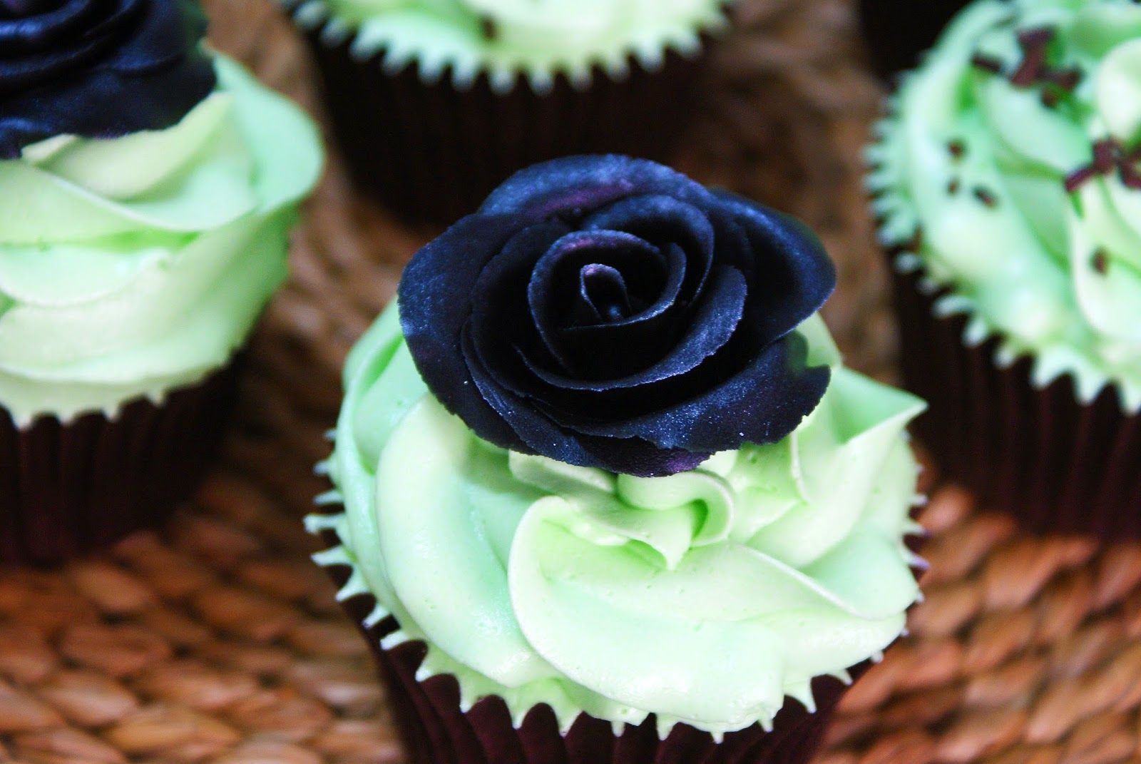 My Sweet Cakeland: After Eight Cupcakes (Cupcakes de Menta y Chocolat...