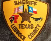 Collectable Lubbock County Sheriff S Patch With Texas Tech Logo Texas Police Police Patches Texas Law Enforcement