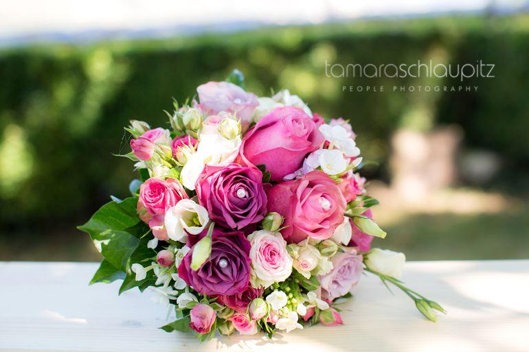Traumhafter Brautstrauss In Rose Pink Weiss Floral Arrangements