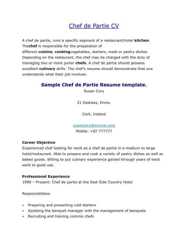 Cook Job Description For Resume Cool Thoughts And Pictures Come To My Mind Thoughts From Before .