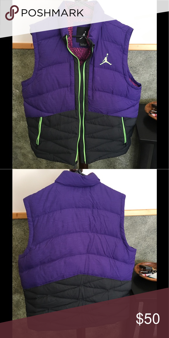 on sale 63962 c7314 Nike Air Jordan Down Vest Nike down vest in good condition. No tears.  Predominantly