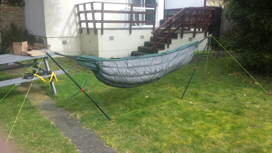 hammock stand how to hammock camp without trees    page 2   dome   pinterest      rh   pinterest
