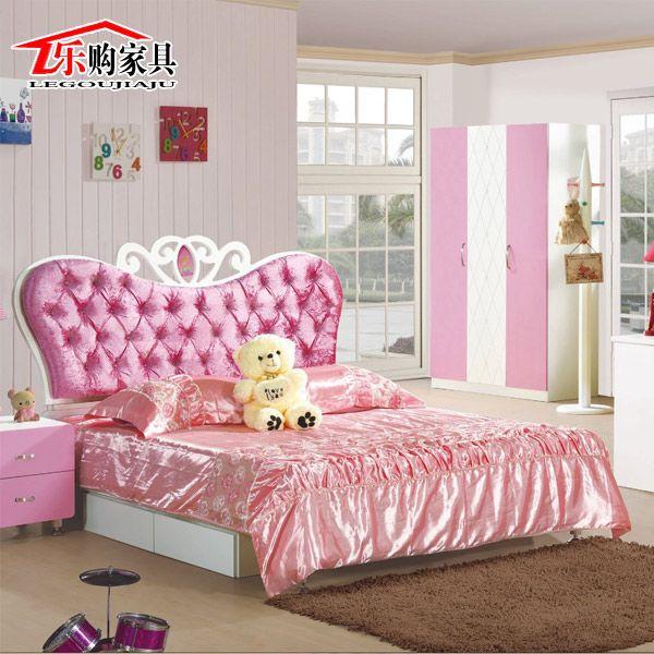 Cheap 1215 m cama de princesa muchacha de los ni os for Muebles ballesta baza