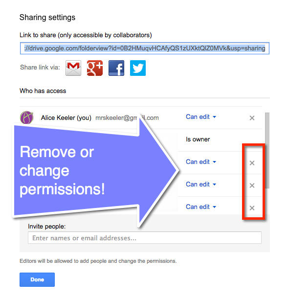Google Drive Do Not Share Everything In A Folder Teacher Tech Google Drive Shared Folder