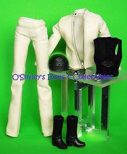 "Harley Davidson ""Buff"" Leather ette Jacket Pant Barbie Model Muse Fashion New | eBay"