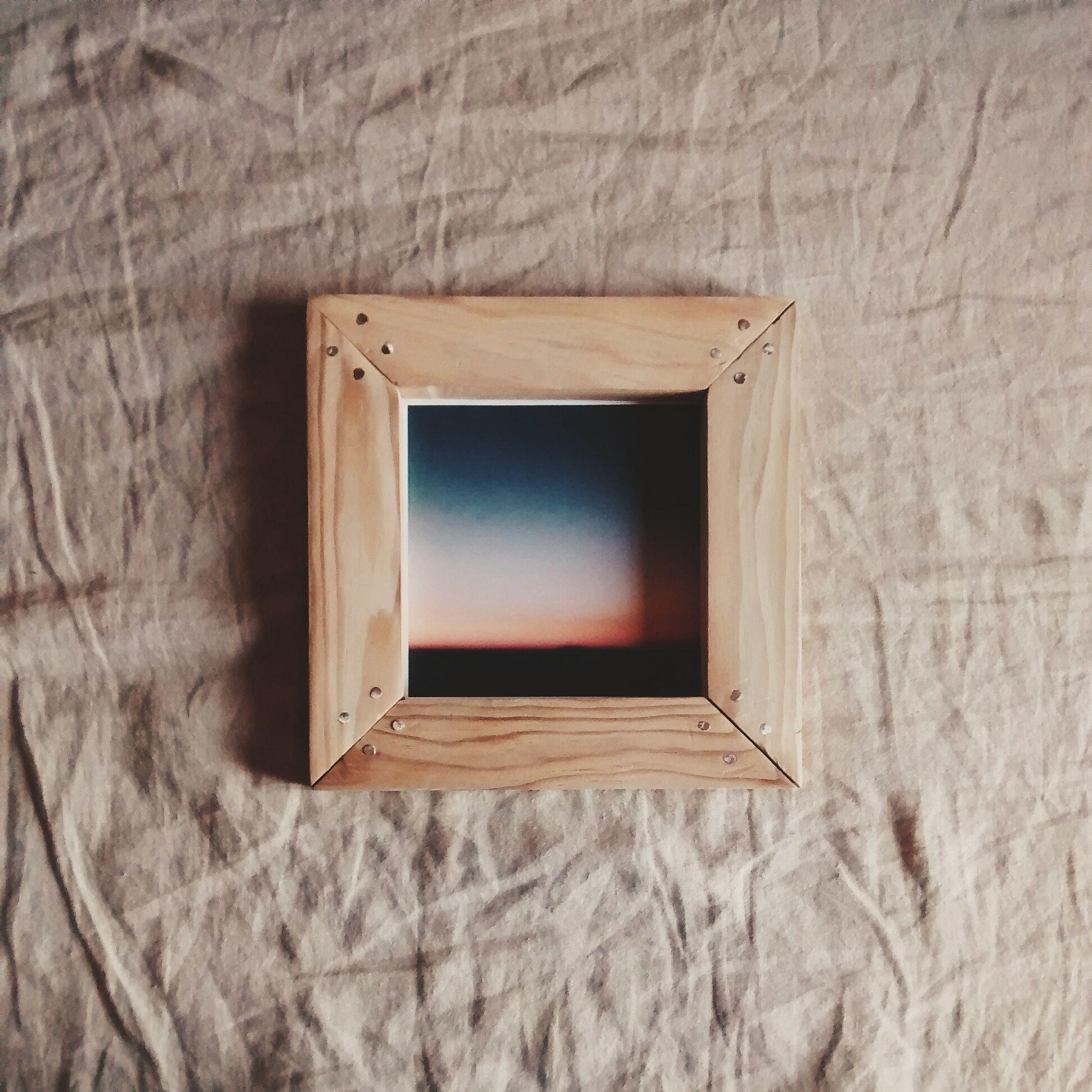 Marco madera palets inglete reciclar marcos marcos madera y palets Marcos fotos madera
