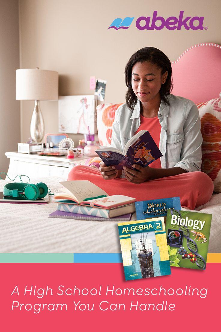 You Can Homeschool Your 10th Grader Abeka Can Help Homeschool Abeka High School Curriculum [ 1104 x 736 Pixel ]
