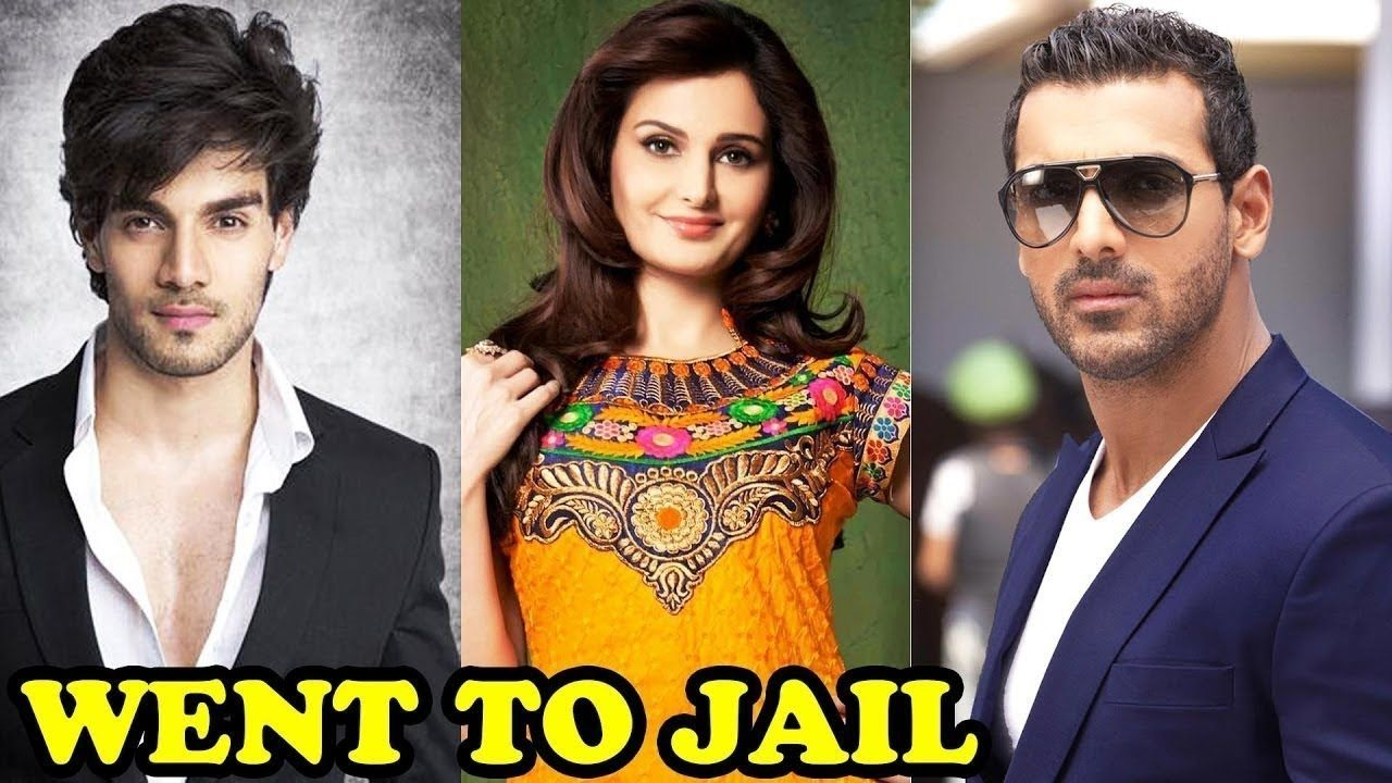 Top 10 Bollywood Celebs Who Went To Jail 2017 2018 Bollywood Celebrities Celebs Bollywood
