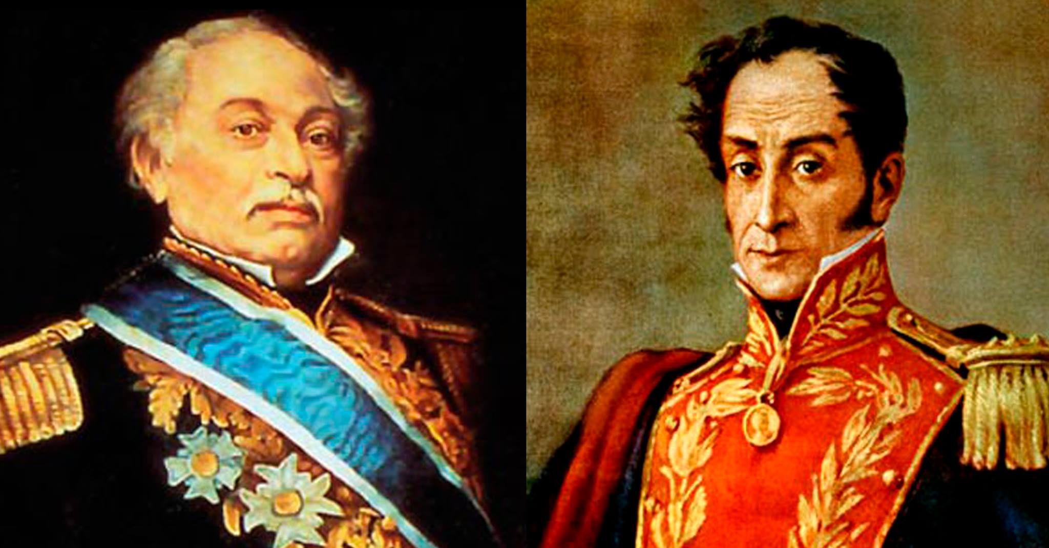 Amistad Entre Simon Bolivar Y Jose Antonio Paez Y Sus Ideales