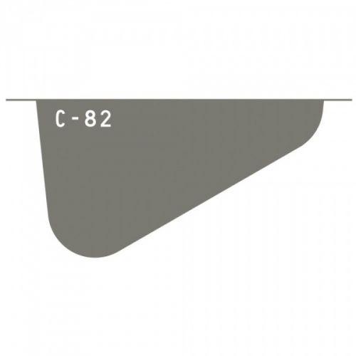 CATALYST SILICONE - CONTOUR TOOLS 82 - TAUPECatalyst Contour struktur skraper er designet for å brukes sammen med alt fra strukturpasta, gel mediums, akrylmaling, tykkere maling og mye mer! Disse er også ideelle for kakelaging og pynting, da de kan vaskes i oppvaskmaskin og tåler varme opptil 258C. Spatlene er laget av et slitesterkt materiale og du kan lage mange ulike strukturer på prosjektene dine. Anbefales til mixed media prosjekt! PRINCETON ART & BRUSH-Catalyst Contour Tool. This t...