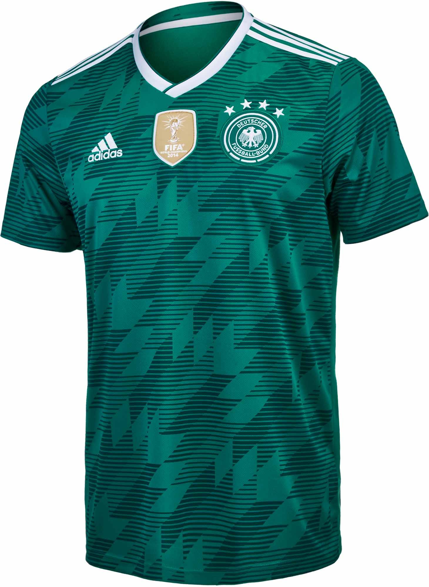 cdf32ae68 2018 19 adidas Kids Germany Away Jersey. Available now at SoccerPro.
