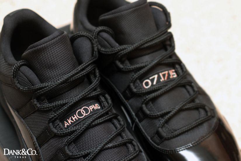Air Jordan 11 Low Customs  8b460e24c