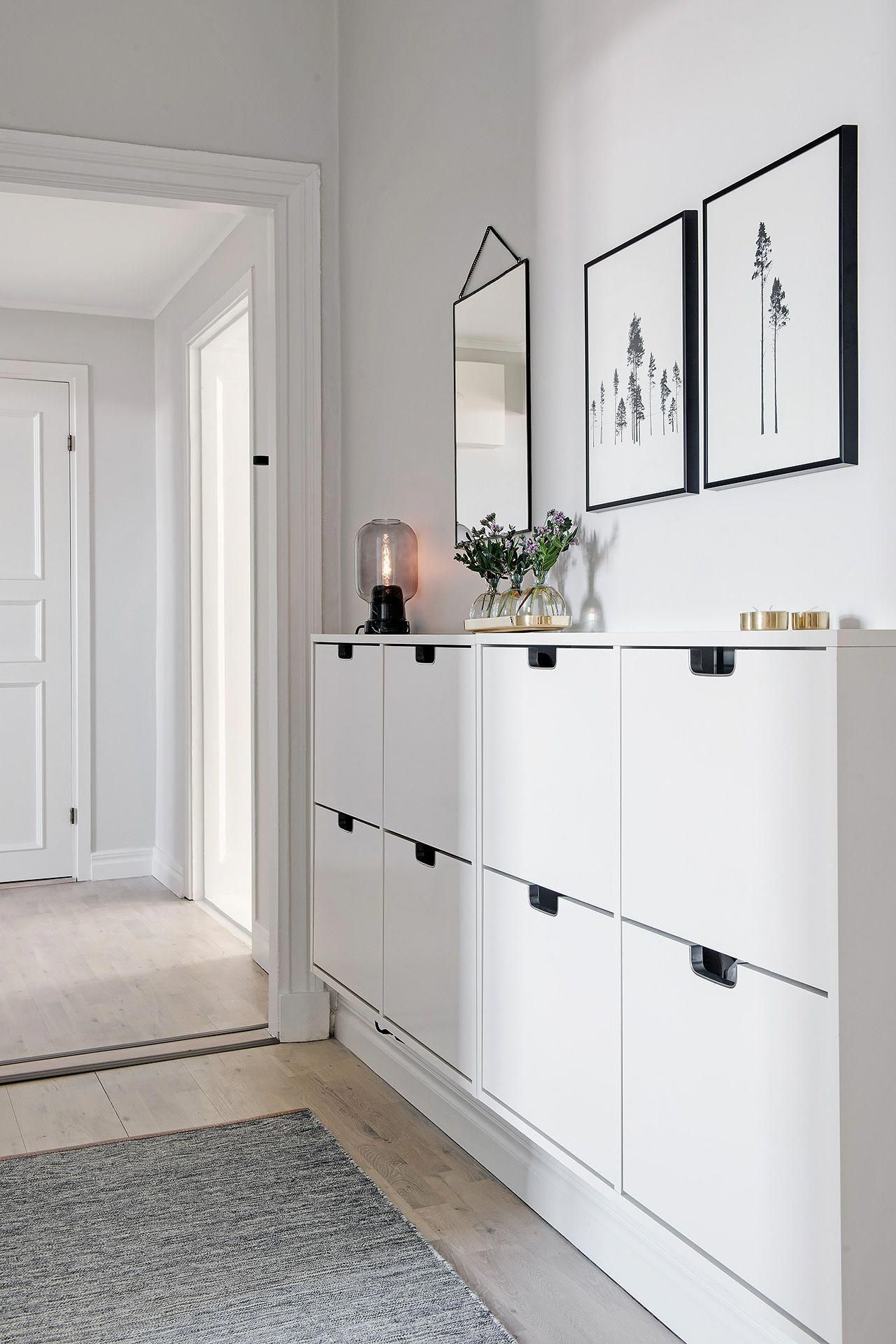 Ikea Stall Shoe Cabinet Hallwayideas Idee Deco Entree Maison Decorer Entree Maison Deco Entree Maison