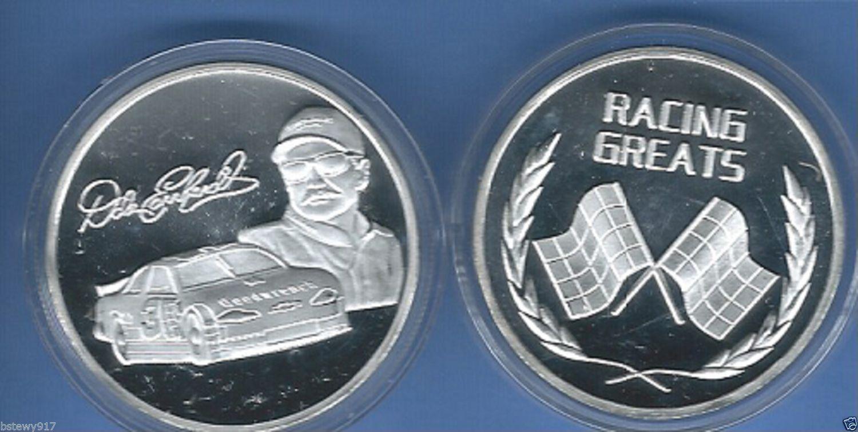 dale earnhardt jr silver coin