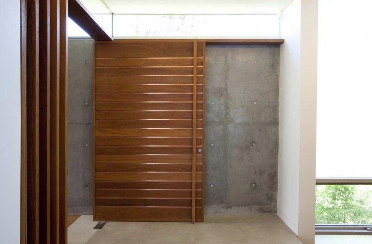 Unique And Creative Modern Door Knob Design Ideas Appealing Wooden Door  Design In The Mosman House