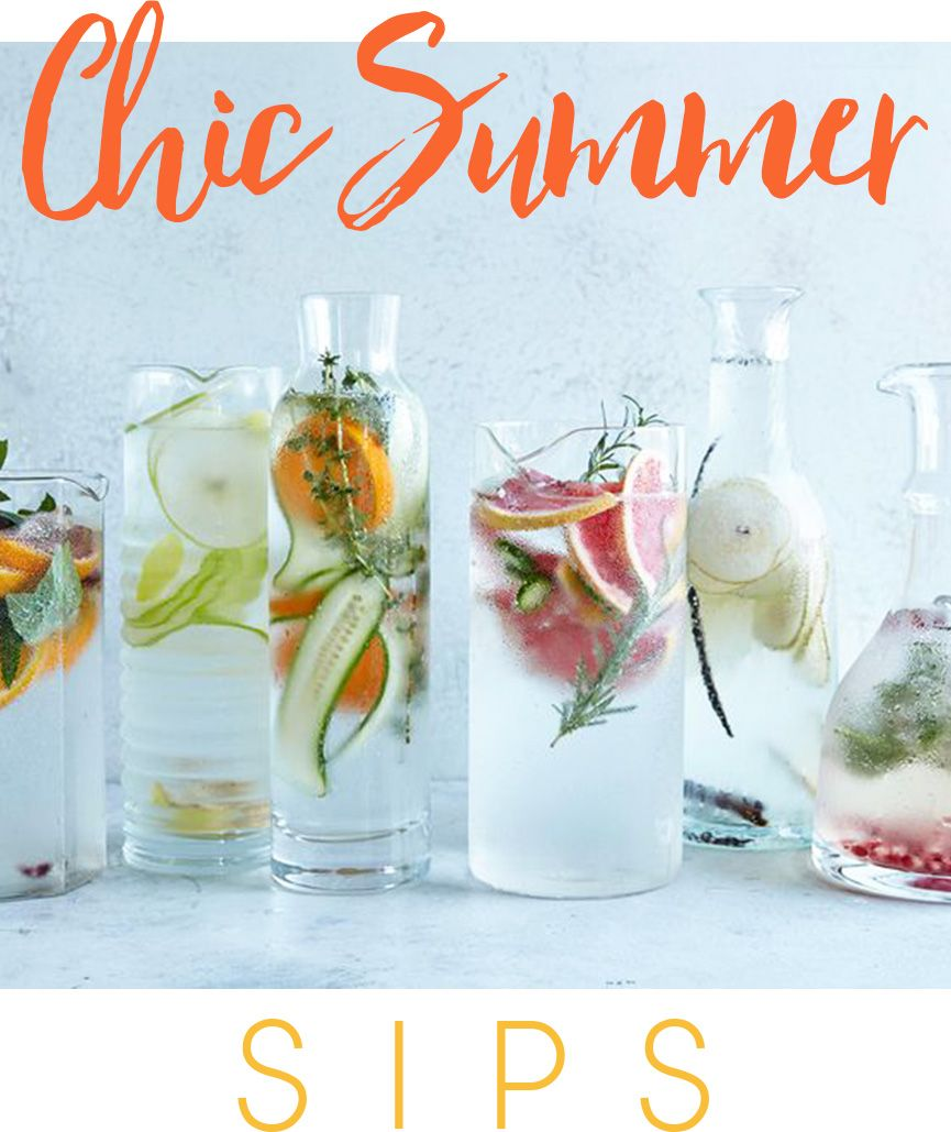 Stay Cool with the Best Fruit & Herb-Infused Waters…