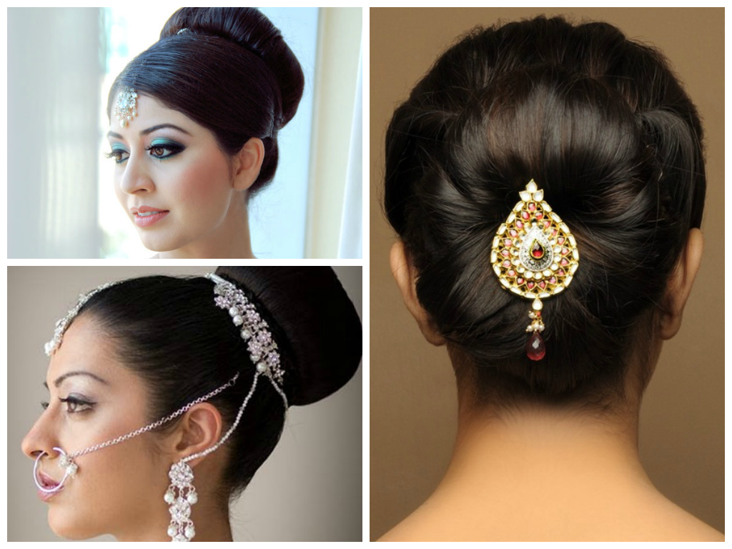 Indian Wedding Hairstyle Ideas For Medium Length Hair Indian