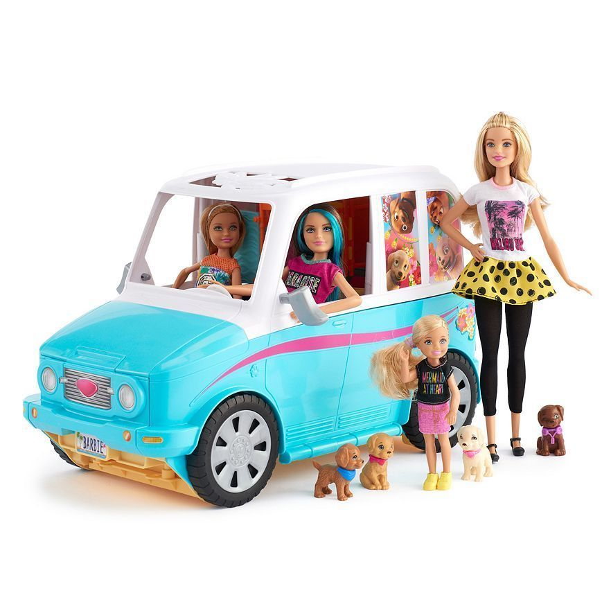 Put In Bay Golf Cart Barbie Mobile on