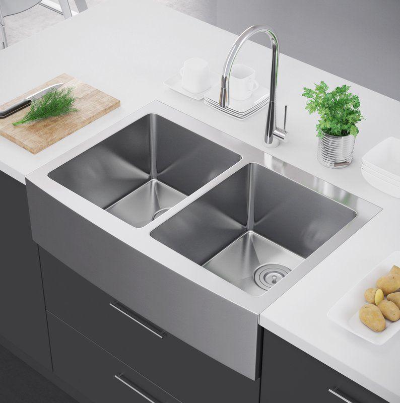wayfair farmhouse sink bathroom