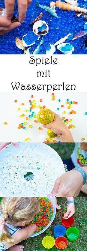 Photo of Spiele mit Wasserperlen für Kinder — Mama Kreativ