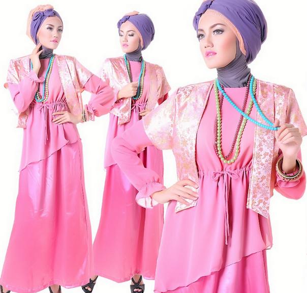 Kamu Remaja Lihat Nih Koleksi Model Dress Muslim Terbaru