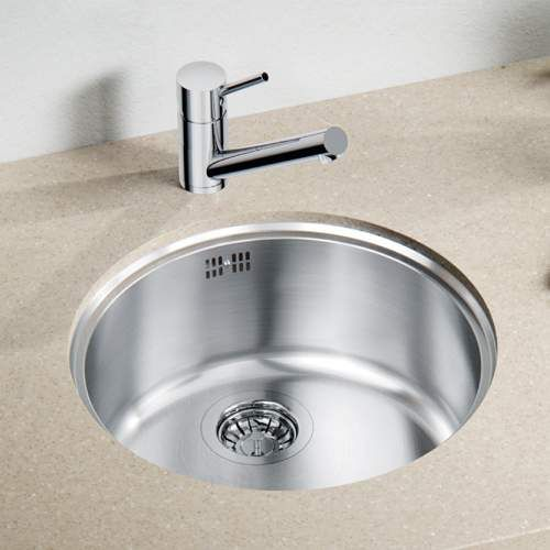 blanco rondo u sol round bowl undermount kitchen sink - Round Sinks Kitchen
