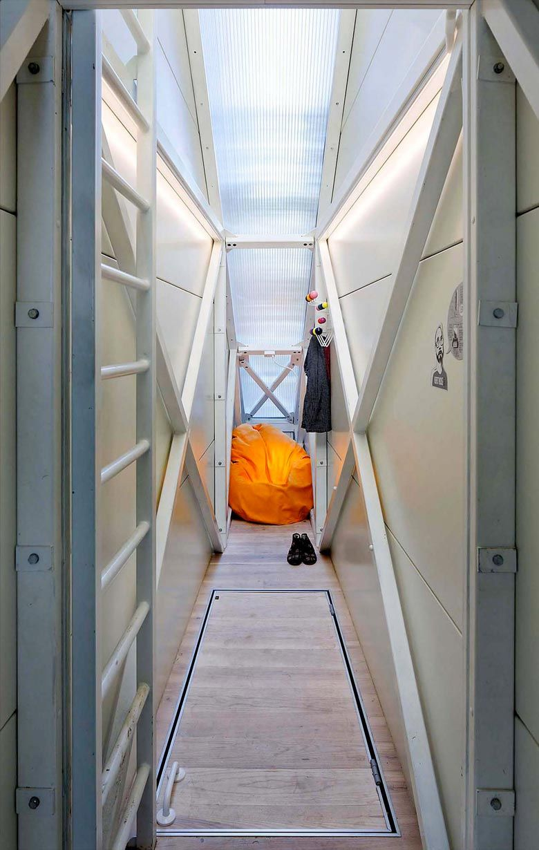 Keret House World S Narrowest Home Located In Warsaw Houses In Poland Narrow House House