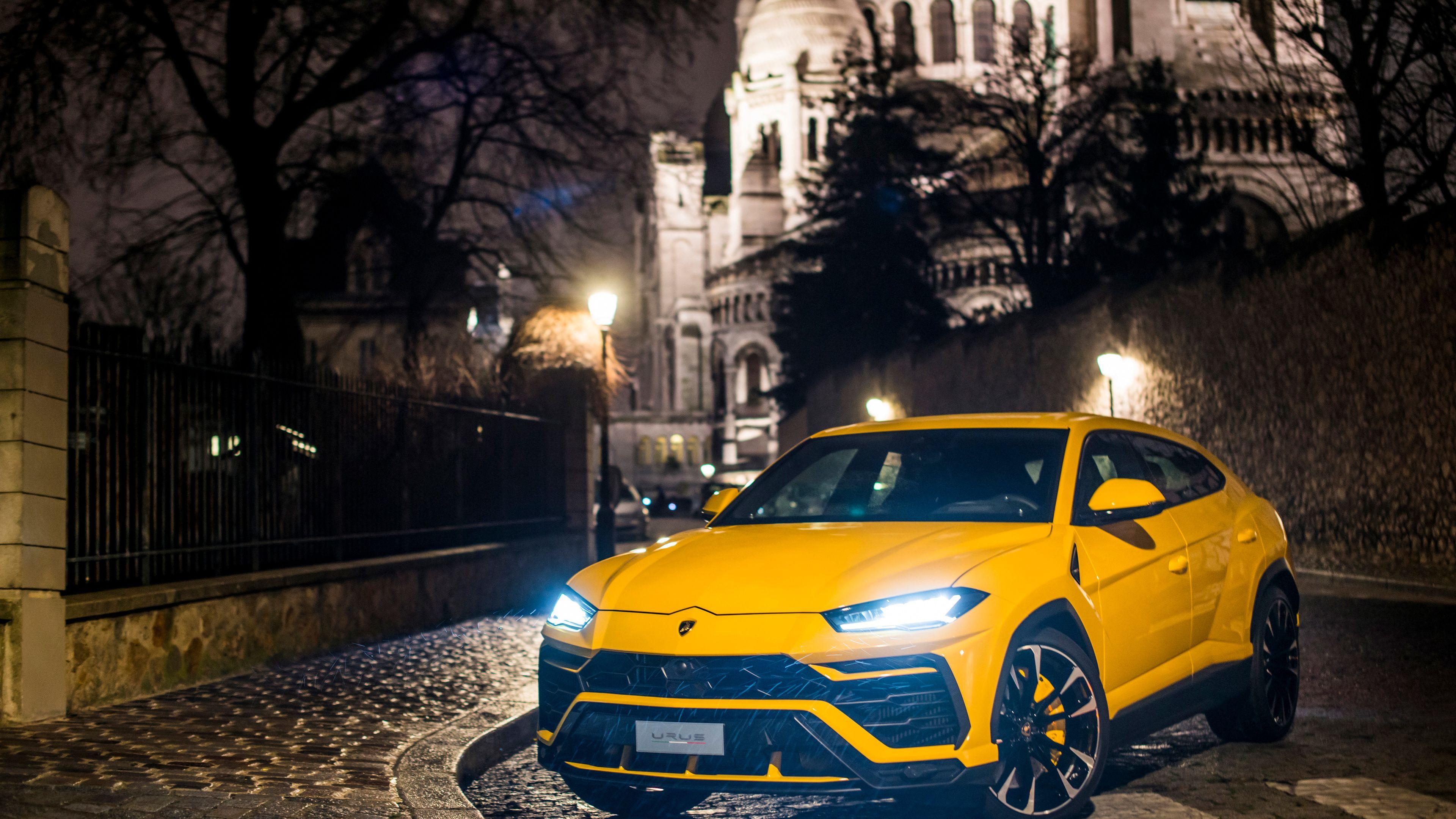 Yellow Lamborghini Urus 2018 Suv Wallpapers Lamborghini Wallpapers