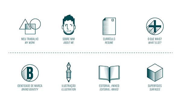 7 Criações incríveis de Personal Branding de Designers