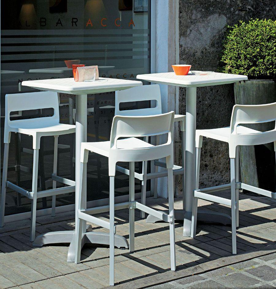 4 sgabelli cucina bar interno esterno polipropilene design moderno impilabili ebay